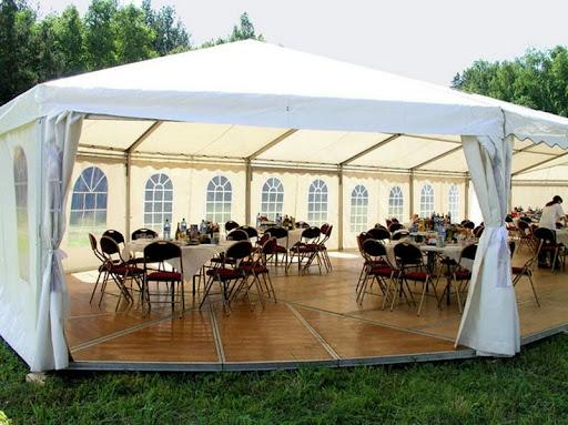 Мягкие окна для шатров и летних кафе